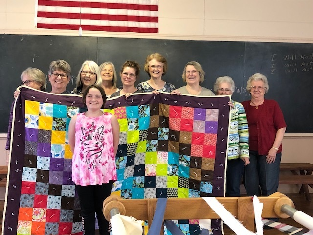 Winner of the quilt