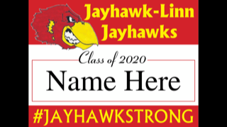 Yard Sign for Class of 2020
