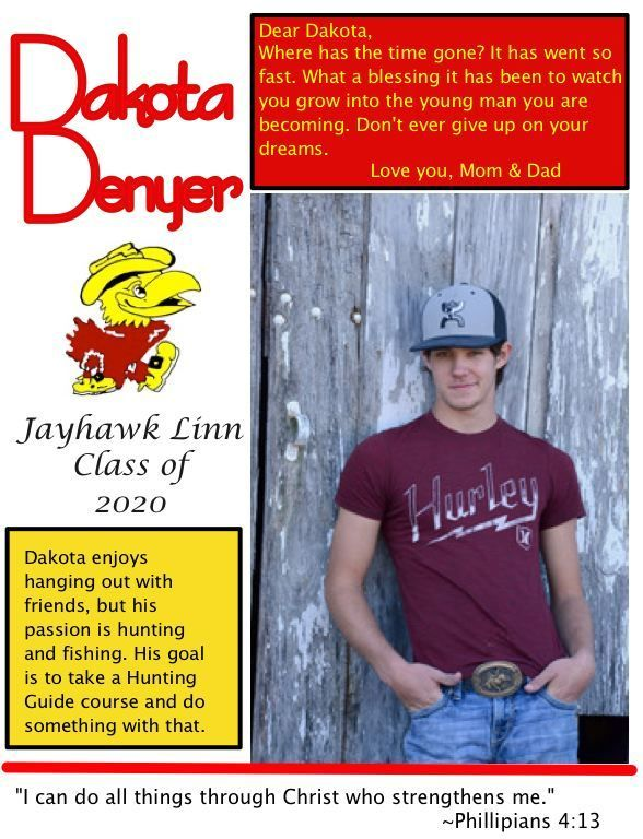 Dakota Denyer Senior Salute